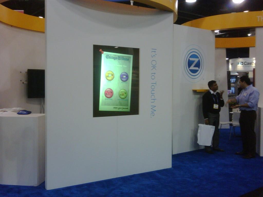Chicago Tribune Interactive Touchscreen