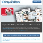 Chicago Tribune Mobile Friendly Email