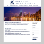 FriendsOfLucasMuseum.com Homepage